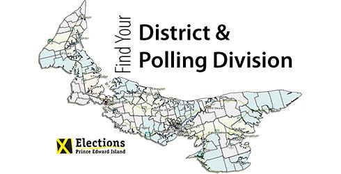 PEI Electoral Map Locator