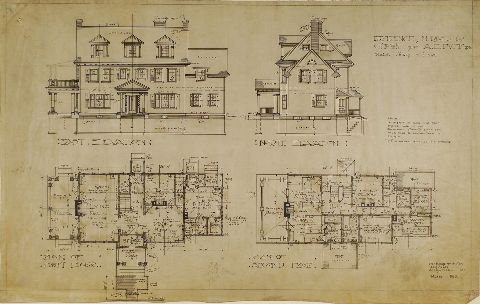 Image Result For House Plans Historic Colonial