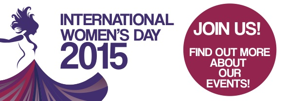 Button for International Women's Day 2015