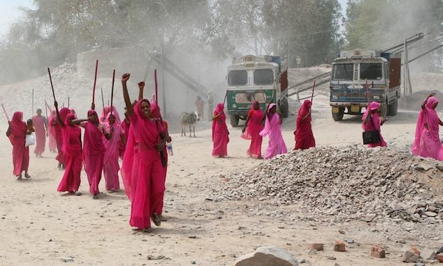 International Women's Day Gulabi Gang Banner