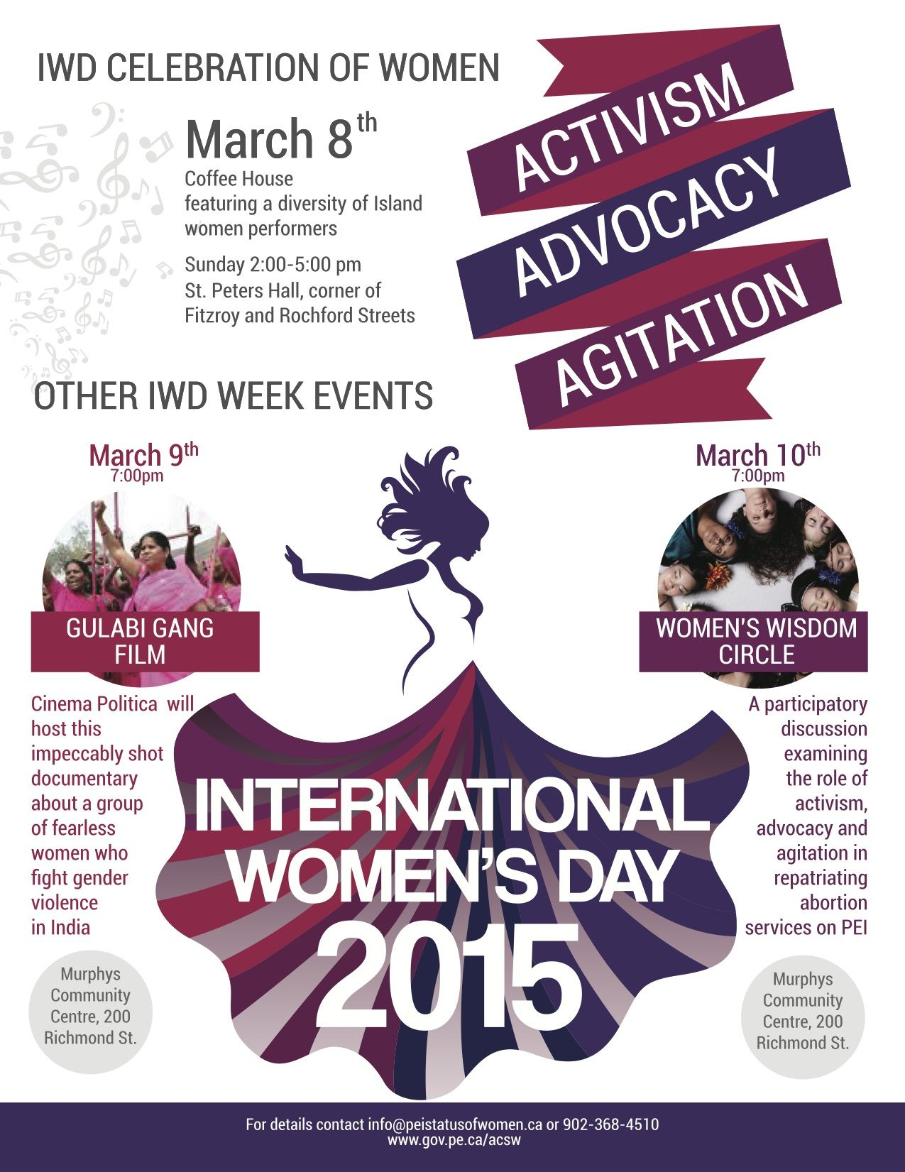 Advisory Council on the Status of Women: Happy International ...