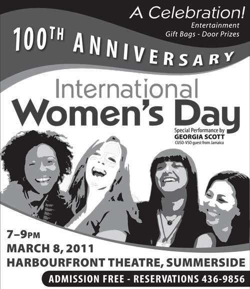 A Celebration! 100th Anniversary International Women's Day