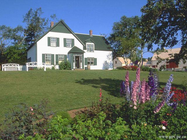 アンの家、「Green Gables」の写真