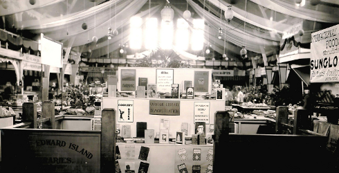 Library Booth, Provincial Exhibition, August 1933