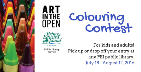 Art in the Open Colouring Contest