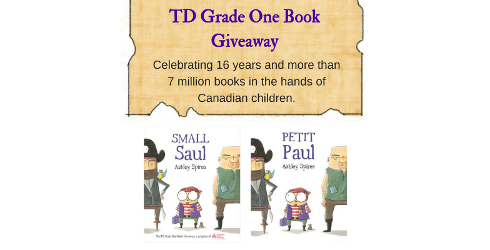2016 TD Grade One Book Giveaway
