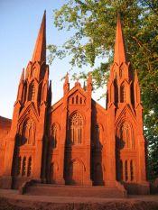 Sculpture de Sandland : L'église catholique romaine Basilique St-Dunstan à Charlottetown