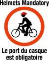 Helmets Mandatory