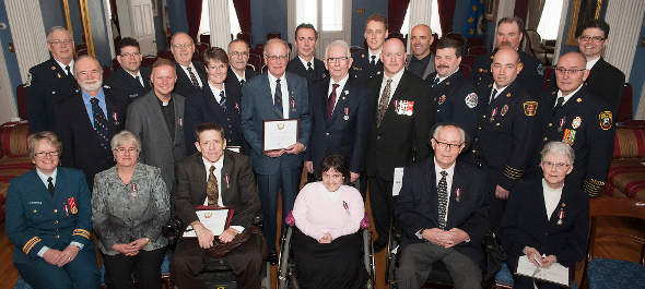 Diamond Jubilee recipients PEI