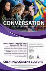 be part of the conversation on consent PEI school poster