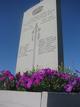 AA Macdonald Memorial Gardens Cenotaph