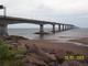 Confederation Bridge from New Brunswick side.