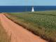 Red Road with Lighthouse