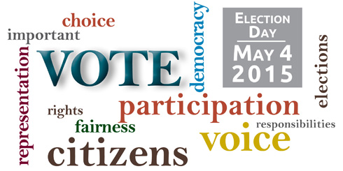 Vote on May 4, 2015
