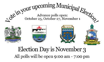 Vote in your upcoming municipal election