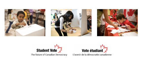 Student Vote front page
