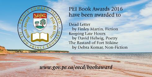 Prix du livre de l''�le-du-Prince-�douard de 2016