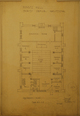 Benjamin Heartz Hall basement plan, Acc3607/74-39.100