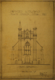 Proposed alterations to Trinity Church, front elevation, Acc3607/74-39.97