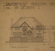 Mr. Reddin residence, detail of front elevation, Acc3607/147-2a