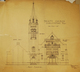 Proposed alternations to front elevation, Trinity Church, Acc3607/74-39.102
