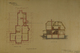 Basement plan and cross section, residence for R. A. Hunt, Acc3466/HF73.102.2